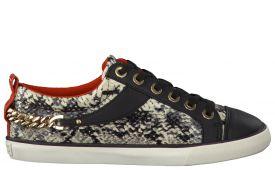 guess-dames-sneaker-textiel-rubber-leer-zwart-wit
